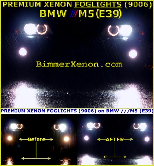 PREMIUM XENON LOWBEAM ON OUR 5 SERIES E39